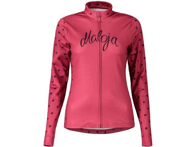 Maloja TrudiM. 1/1 Multisport Jacket Women alprose alpine leaves